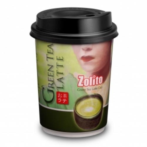 Green Tea Latte 1 Carton : 24 Cups